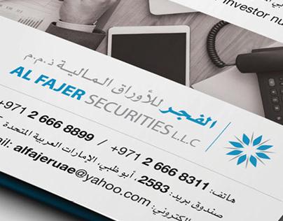 Al Fajer Securities Re-Branding