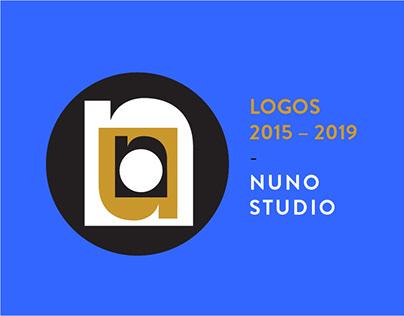 Logos 2015 - 2019   Nuno Studio