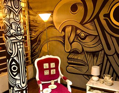 """Exposición """"Al Muro"""" ."""