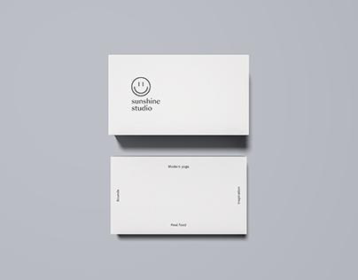 Prototype Card Design. Branding