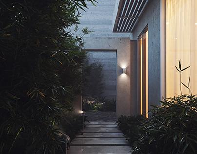 The Green Courtyard