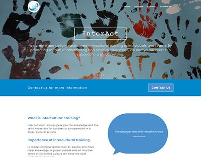 Interact Web design