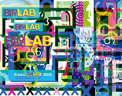 Brody Lab - Afiche y Packaging