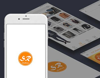 S.R. Clothes Mobile UI & UX