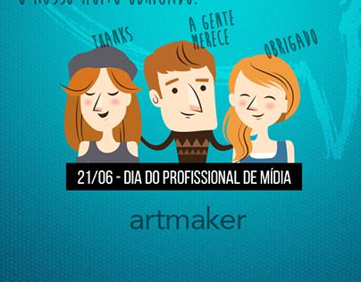 Dia do Profissional de Mídia | Artmaker