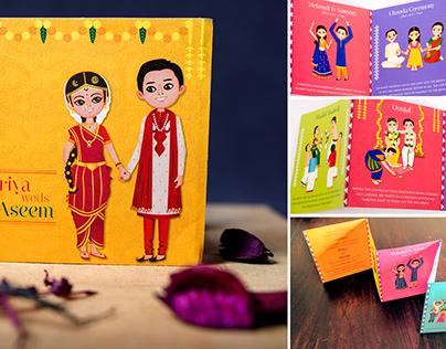 Tamil Brahmin Wedding Invitations