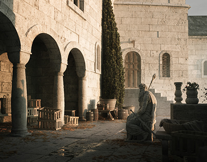 Middle-Earth: Market in Minas Tirith