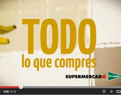 Ilustraciones para spot Supermercado El Corte Inglés