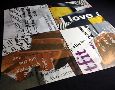 Type Collage Boards