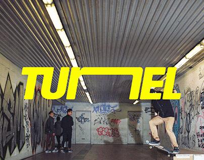 TUNEL Skate Spot | Visual identity