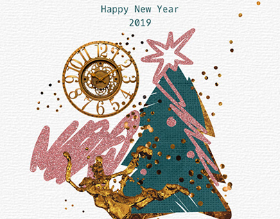 Animated New Year Card Design