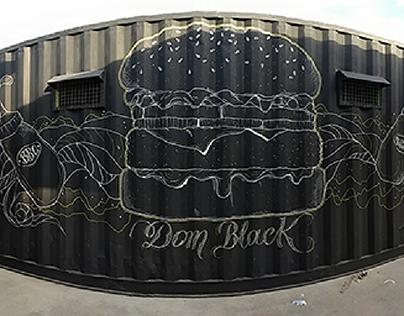 Projeto Baião de Dois Letrismo - Dom Black Gourmet