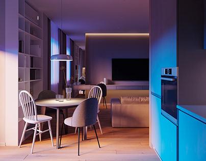 Light apartments