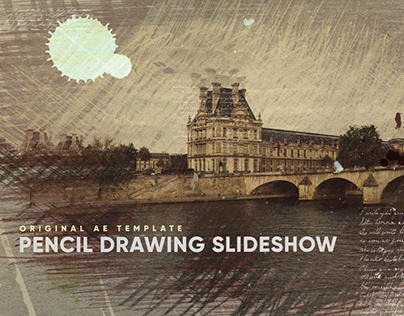 PENCIL DRAWING PARALLAX SLIDESHOW