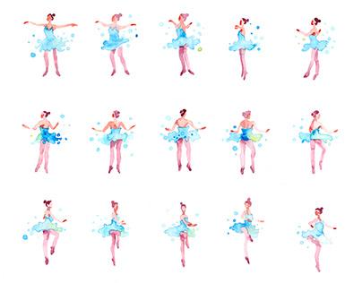 "Rotoscope ""Ballerina"""