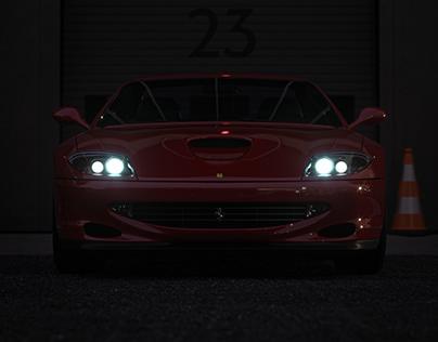F550 Maranello CGI