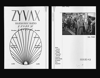 """ZYVAX"" HARMONIC RATIO NOTEPAD"