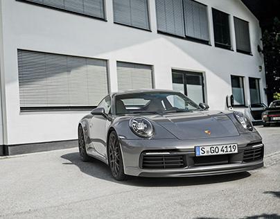 Porsche 911 Carrera S 2019   CGI