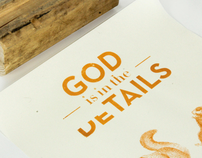 GOD IS IN THE (de)TAILS
