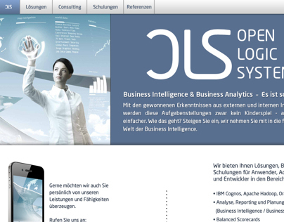 OLS - Company Website