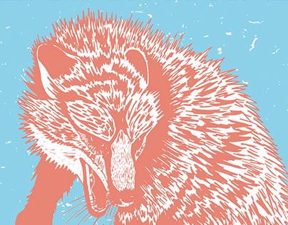 SCREEN PRINTING // FOX FIGHT