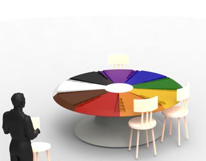 "45 mins ""Designer's Brainstorming Table"""