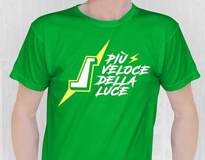 """T-shirt """"Più veloce della luce"""""""