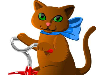 Cat on a Tricycle