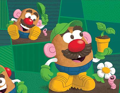 Mr. Potato Head Packaging Art for Hasbro