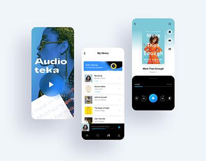Audioteka UI/UX redesign