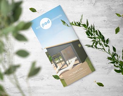 Architect Brochure Design - Eco Pods