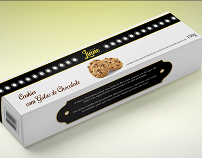 Embalagens Biscoitos Liane - Classe A (Redesign)