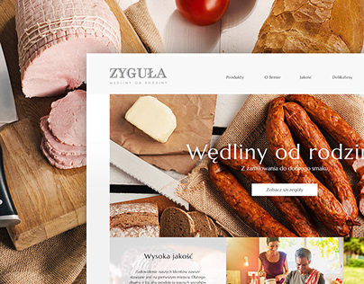 Zyguła / web & mobile design