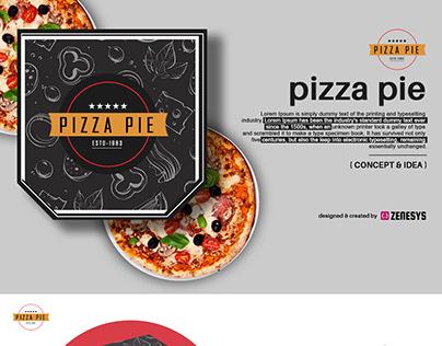 Pizza Pie - Concept & Idea