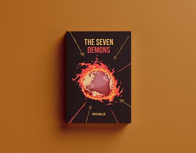 The Seven Demons Book Cover Designer
