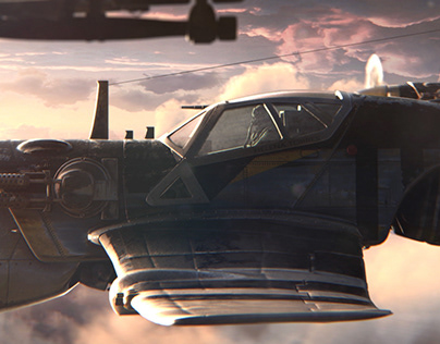 SONS OF LIGHT - Matte painting