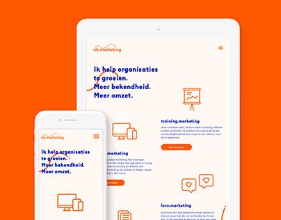 rik.marketing UI