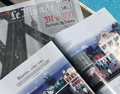Biarritz, côté rue -M- le mag du monde