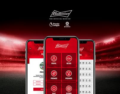 Bud Futbol - Mobile UI Design