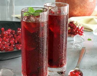 Pomegranate Shots