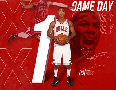 DRose Basketball Gameday mock up