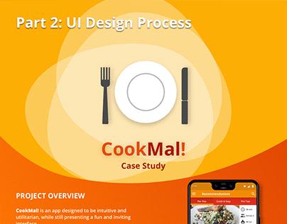 CookMal! Recipe App - Part 2: UI Design Phase