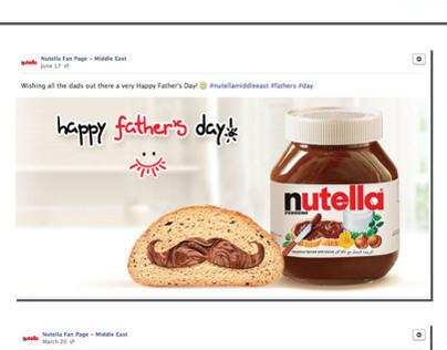 Social Media Posts - Digital Communication (Ferrero)