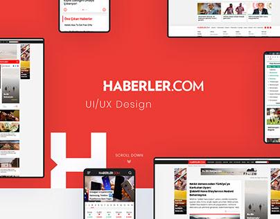 Haberler.com UI/UX Design