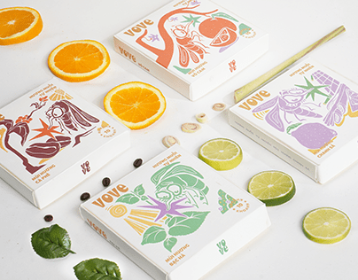VOVE - Mosquito Incense Packaging