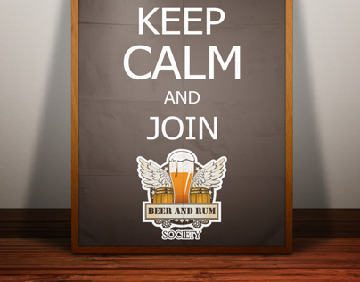 UQ Beer and Rum Society - Posters