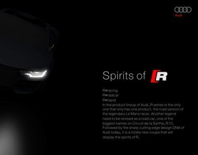 Audi R10 e-tron quattro Concept