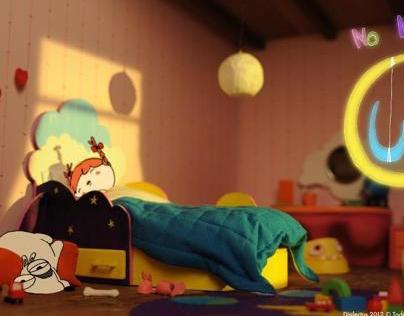 No Mundo da Lua - Bom dia! | Animated Short Movie