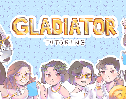 Gladiator Tutoring Website Design