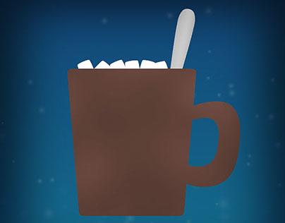 "Winter GIF - ""Hot Chocolate"""